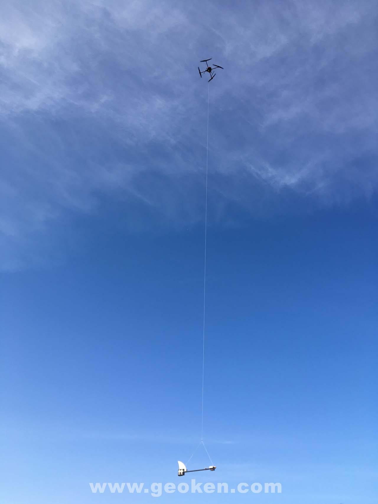 Аэромагнитные работы с применением БПЛА